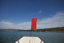 Free Wooden Wharf And Blue Water Stock Photo - 23920310