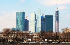 Free Moscow City Business Center Stock Photography - 23920662