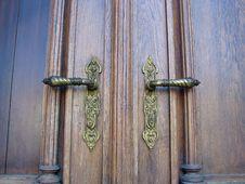 Free Door Handkes Royalty Free Stock Photos - 23920718
