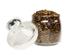 Free Coffee In A Jar Stock Image - 23921001