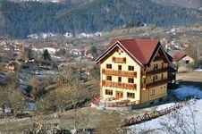 Free Mountain Resort Royalty Free Stock Image - 23921196