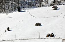 House Snow Stock Photos