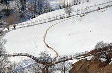 Free House Snow Stock Photos - 23921853