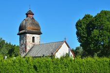 Free Old Rural Church In Scandinavia Stock Photo - 23922100