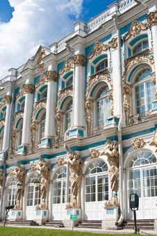 Free The Catherine Palace,  Tsarskoye Selo Stock Images - 23925714