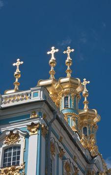 The Catherine Palace,  Tsarskoye Selo Royalty Free Stock Photos
