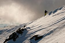 Free Freeride In Caucasus Mountains Royalty Free Stock Photo - 23926965