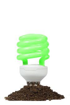 Free Conceptual Energy Saving Lamp Royalty Free Stock Image - 23927376