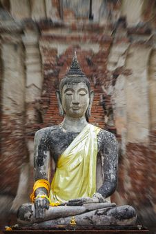 Free Buddha Stautue Stock Photos - 23927693