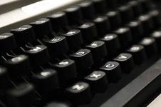 Free Antique Typewriter Royalty Free Stock Photography - 23929607