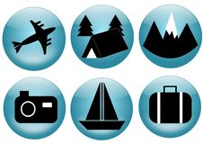 Free Travel And Tourism Icon Set Stock Photos - 23929773