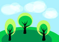 Free Simple Landscape Stock Photo - 23930580