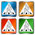 Free Pedestrian Crossing Signs Stock Photos - 23935663