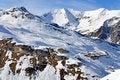 Free Ski Station Near Hintertux Glacier Stock Photo - 23938420
