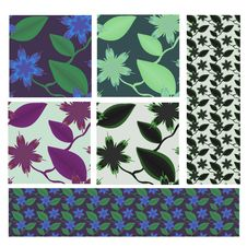 Free Floral Seamless Pattern Stock Photo - 23930480