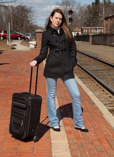 Free Waiting For The Train Royalty Free Stock Photography - 23932987