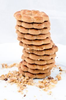 Free Tower Of Cookies Stock Photos - 23933383