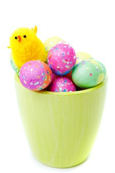 Free Easter Eggs Stock Images - 23933404