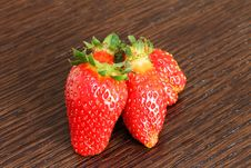 Free Strawberries Royalty Free Stock Photos - 23933418