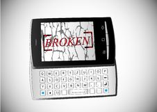 Free Broken Phone Stock Images - 23934564