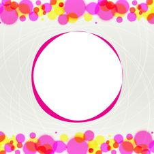 Free Abstract Blurred Circles On Light Background Royalty Free Stock Photography - 23939597