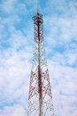 Free Antenna Pole Tower Royalty Free Stock Image - 23941186