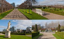 Free Formal Garden Royalty Free Stock Photos - 23941108