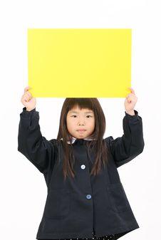 Free Little Asian Schoolgirl Royalty Free Stock Image - 23942376