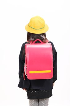 Free Little Asian Schoolgirl Stock Photo - 23942450