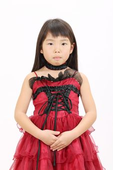 Free Little Asian Girl Royalty Free Stock Photo - 23942505