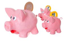 Free Piggy Bank Royalty Free Stock Image - 23944246