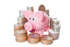 Free Piggy Bank Royalty Free Stock Image - 23944266