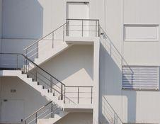 Free External Staircase. Royalty Free Stock Photo - 23944495
