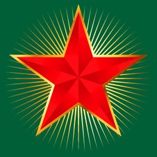 Free Red Star Stock Images - 23945814