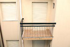Free Empty Balcony Royalty Free Stock Photos - 23946638