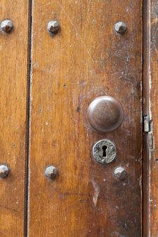 Old Door Handle Royalty Free Stock Image