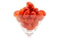 Free Fresh Cherry/ Cocktail Tomato In A Cocktail Glass Stock Photography - 23951502