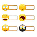 Free Icons Of Smiles With A Framework Royalty Free Stock Photos - 23952298