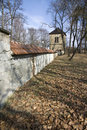 Free Fortification Wall In Rychnov Royalty Free Stock Image - 23954956
