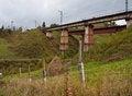 Free Railway Bridge In The Mountains Stock Photos - 23957343