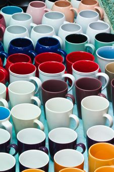 Free Multiple Color Assorted Glass Royalty Free Stock Photography - 23950127
