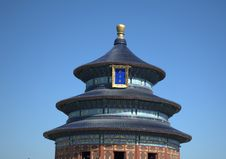 Free The Temple Of Heaven ,beijing,china Royalty Free Stock Image - 23951216