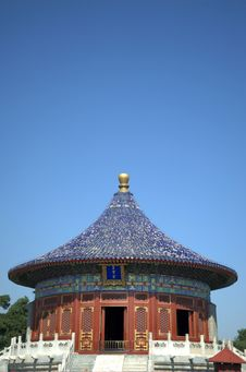 Free Temple Of Heaven Temple,beijing,china Royalty Free Stock Photo - 23951235