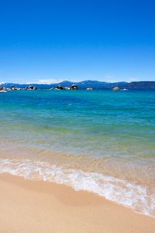 Lake Tahoe Vacation Royalty Free Stock Photo