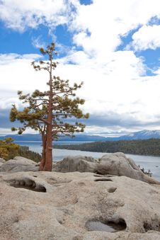 Lake Tahoe Vacation Stock Photography