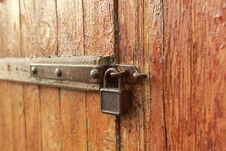 Free Old Padlock II Stock Photography - 23952132
