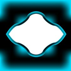 Free Original Black-blue Framework Royalty Free Stock Images - 23952299