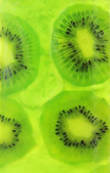 Free Kiwi Jelly Royalty Free Stock Photos - 23954708