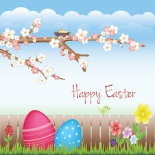 Free Sweet Easter Background Royalty Free Stock Photography - 23956697