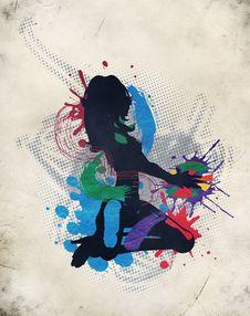 Free Illustration Of A Music DJ Stock Photo - 23959130